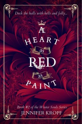 Ebook Cover A Heart as Red as Paint CURRENT